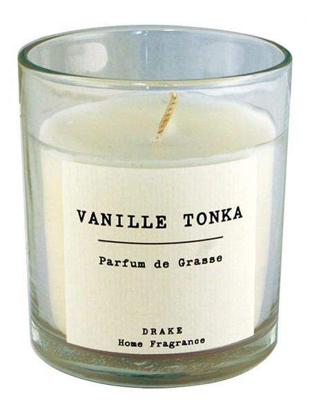 Bougie verre Authentique 35h parfum Vanille Tonka