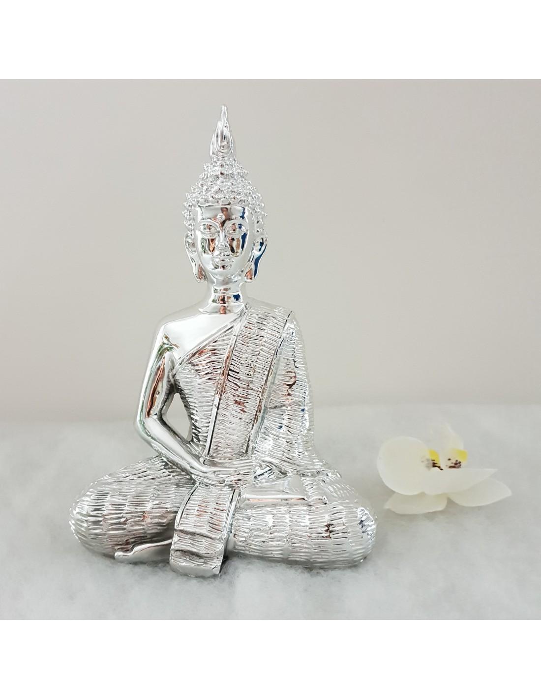 statue design bouddha en resine objet deco. Black Bedroom Furniture Sets. Home Design Ideas