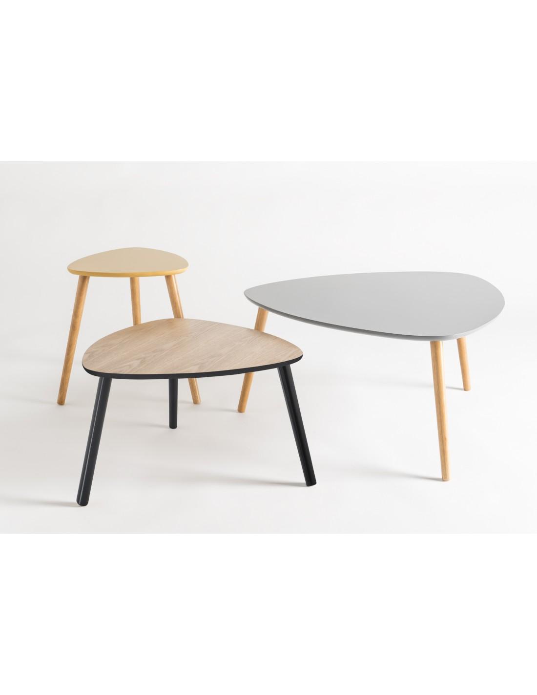 Audace Deco - Table basse nomade design scandinave gris ...