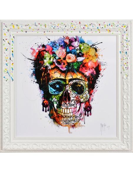 Tableau Murciano 38x38 Frida Khalo, Livraison gratuite