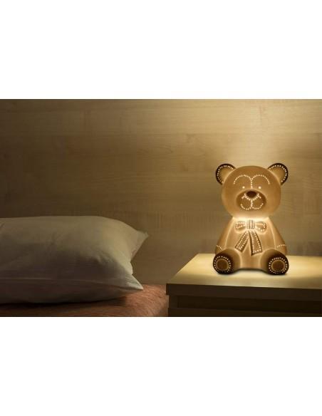 Lampe de chevet enfant Ourson H25cm